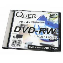 DVD-RW QUER 4.7GB/4x slim 1szt