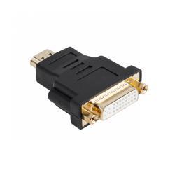 Złącze HDMI wtyk-DVI gniazdo 24+5