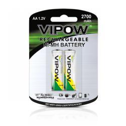 Baterie NI-MH AA 2700mAh 2szt/bl., blister