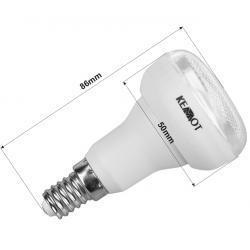 Kompaktowa lampa fluorescencyjna (Świetlówka) R50 7W E14, 2700K