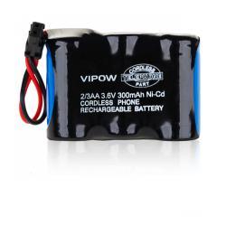 Baterie P201 2/3AA300mAh 3.6V