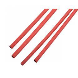Rurki termokurczliwe 5,0 mm-1m czerwone
