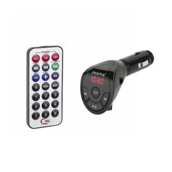 Samochodowy transmiter FM (pilot, USB, JACK)