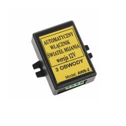 Sterownik świateł mijania AWS-2 12V(3 obwody)na podzespołach BOSCH