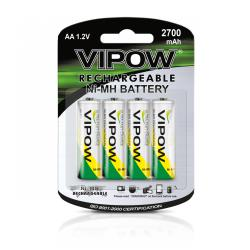 Baterie NI-MH AA 2700mAh 4szt/bl., blister
