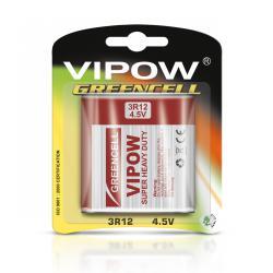 Baterie VIPOW GREENCELL 3R12 1szt/bl., blister