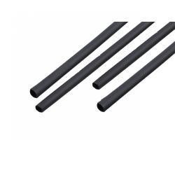 Rurki termokurczliwe 10 mm-1m czarne