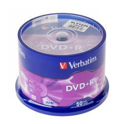 DVD+R x16 VERBATIM 4,7GB CAKE 50szt