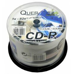 CD-R QUER 700/80 CAKE BOX.-50szt.