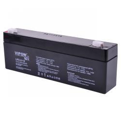 Akumulator żelowy VIPOW 12V 2.2Ah