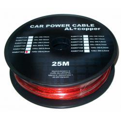 Kabel samochodowy 10Ga OD5.5mm CU+AL 25m