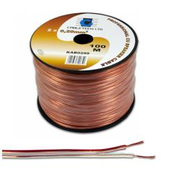 Kabel głośnikowy 0,35mm, rolka