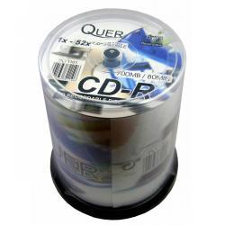 CD-R QUER 700/80 CAKE BOX.-100szt.