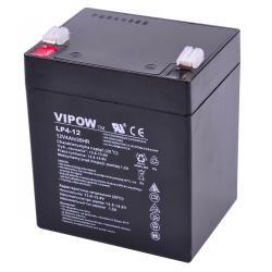Akumulator żelowy VIPOW 12V 4.0Ah