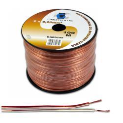 Kabel głośnikowy 0,75mm, rolka