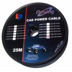 Kabel samochodowy 10Ga OD5.5mm CU 25m