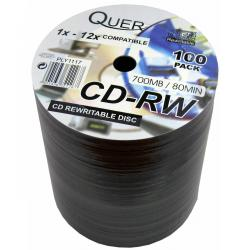 CD-RW QUER 700/80/12x spind. 100szt