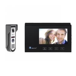 Video-domofon CABLETECH z panelem dotykowym (7 cali- kolorowy)