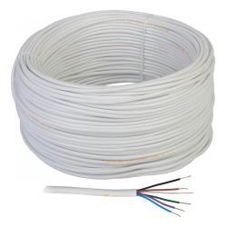 Kabel tel/alarmowy YTDY 6 x 0,5 100m, rolka