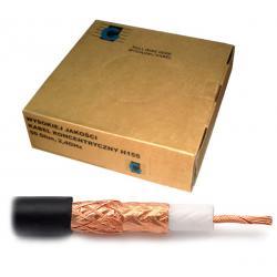 Kabel koncentryczny H155 100m/pudełko, rolka