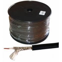 Kabel mikrofonowy mono 6mm profesjonalny, rolka