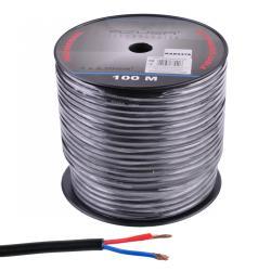 Kabel głośnikowy okrągły AZUSA 2.5mm, rolka