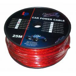 Kabel samochodowy 4Ga OD10mm CU 25m