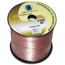 Kabel głośnikowy OFC 2,5mm, rolka