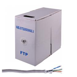 Kabel komputerowy skrętka FTP 4x2/0.5CCA, rolka