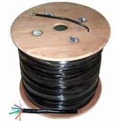 Kabel komputerowy - skrętka UTPCat5e + żel, rolka