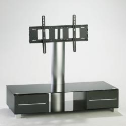 """Uchwyt-stojak do LCD/Plasmy czarny obrotowy uniwersalny do 50kg/50"""""""