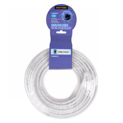 Kabel koncentryczny RG-6U CCS 20m, rolka