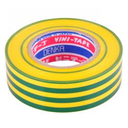 Taśma VINI 101 0,2x19x10 klejąca zielono/żółta