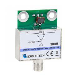 Wzmacniacz antenowy ekranowany 30dB Cabletech