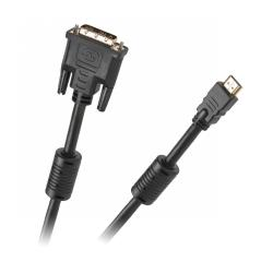Kabel DVI-HDMI 10m GOLD v1.3b