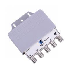 Złącze SAT DiSEqC,4x1 Cabletech