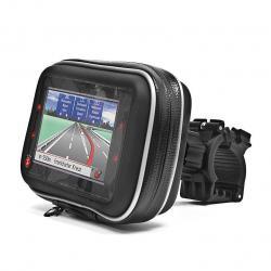 Etui wodoodporne do nawigacji 3.5`` z mocowaniem (rower, motor)