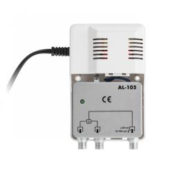 Rozgałęźnik antenowy szerokopasmowy z zasilaczem 12V do anteny aktywnej Cabletech model AL-105