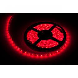 Sznur diodowy 5m czerwony, wodoodporny (300x 3528 SMD )
