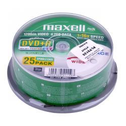 DVD+R MAXELL 4,7GB 16X PRINT. FF CAKE 25szt.