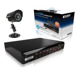 Zestaw do monitoringu KGUARD + 4 kamery