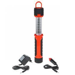 Lampa warsztatowa 30+ 4+8 LED z ładowarką sieciową i samochodową