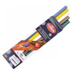 Klej uniwersalny kolorowy BN 1021C 11mm/20cm 1opak.-5szt..