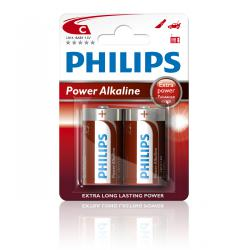 Bateria Philips LR14 PowerLife B2 -2szt, blister