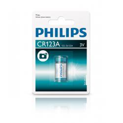 Bateria Philips CR123A, blister