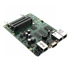 Router Board RB433/ CPU 300MHz/ 64MB RAM/ 3x LAN/ 3x mPCI/ Router OS L4