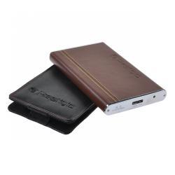 Dysk zewnętrzny Prestigio (2,5 500GB, SATA II-300, USB 3.0, AVG Software) brązowy z etui