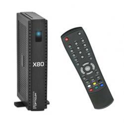 Tuner cyfrowy SAT OPTICUM ORTON X80/HDMI/