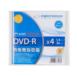 DVD-R ESPERANZA MINI 1,4GB X4 SLIM