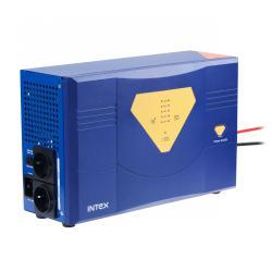 Awaryjne źródło zasilania z przebiegiem sinusoidalnym i funkcją ładowania 24V 230V 600W INTEX